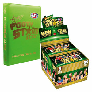 Pre Order: Footy Stars S1\Prestige 2021 2 Box Bundle plus a Footy Stars Album- release date May 10th