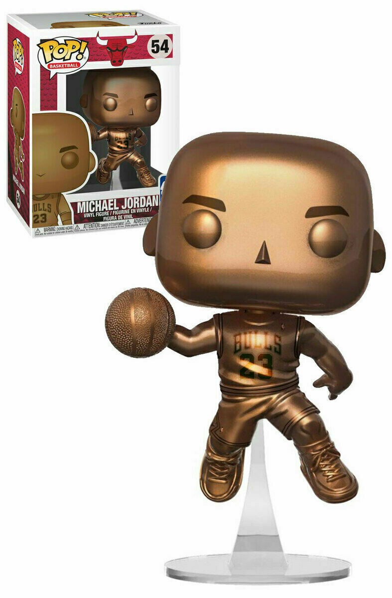 Pop Basketball 54 Michael Jordan Gold Vinyl