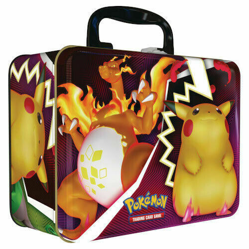 2020 TCG Collectors Chest featuring a Charizard VMAX and Pikachu design.