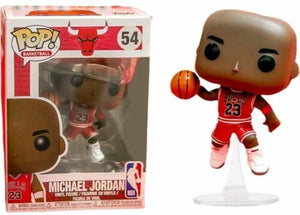 Pop Basketball 54 Michael Jordan Red