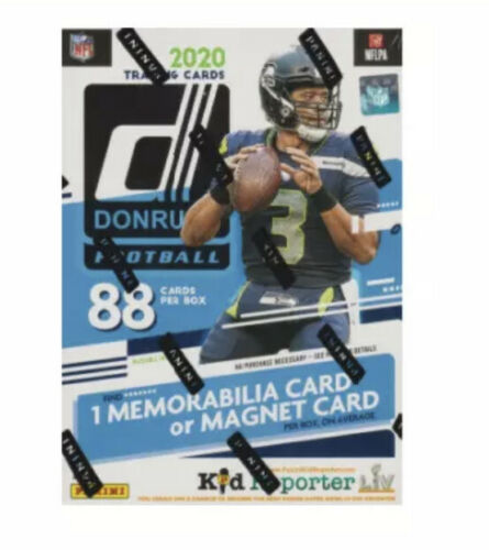 2020 Donruss NFL Blaster Box