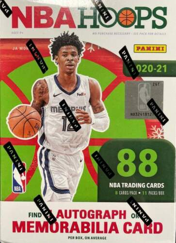 Pre Order: 2020-21 Panini Hoops WINTER HOLIDAY Blaster Box- Arriving Mid\End April