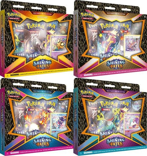 Pokemon TCG: Pin Collection- Shining Fates Mad Party