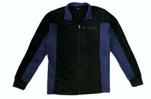 Hiking Coat Polar Fleece-COLOR-BLACK-BLUE