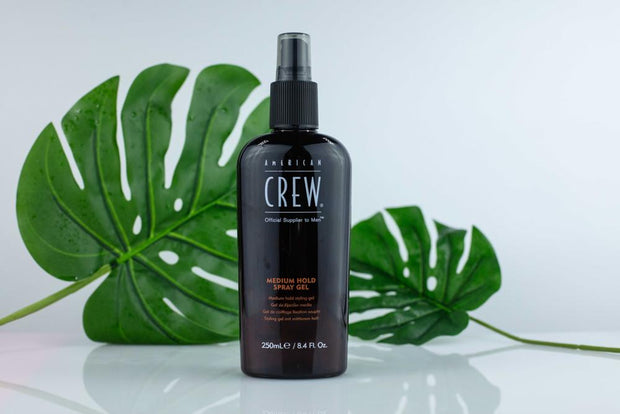 American Crew Medium Hold Spray Gel - Υγρή Λακ για Styling MACO HAIR SYSTEMS