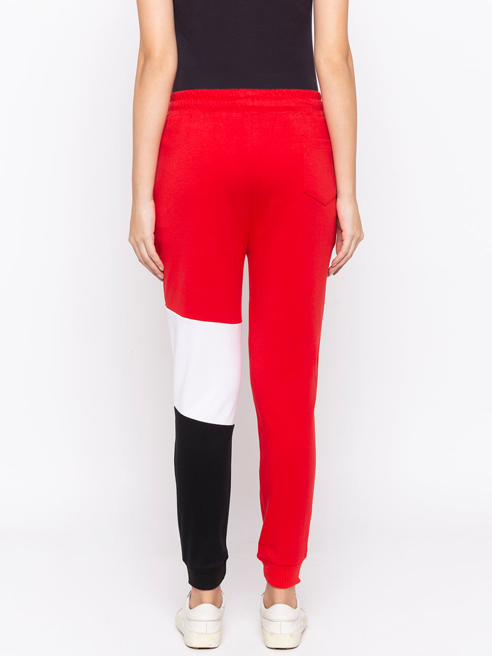 Red Conquer Graphic Print Regular-Fit Joggers