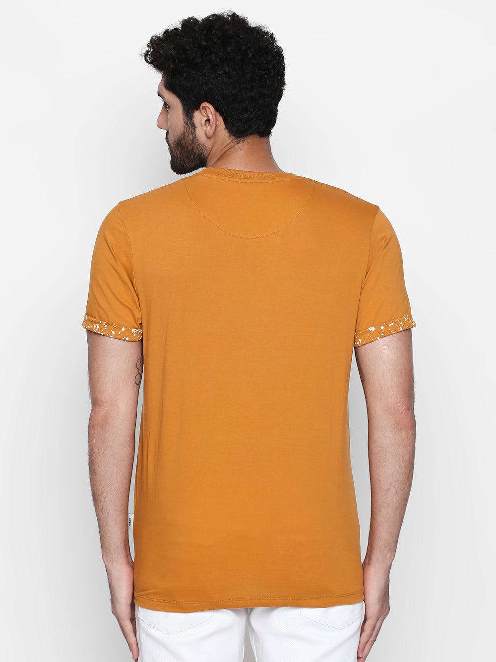 Ochre Knits Cotton Half Sleeve T-Shirt