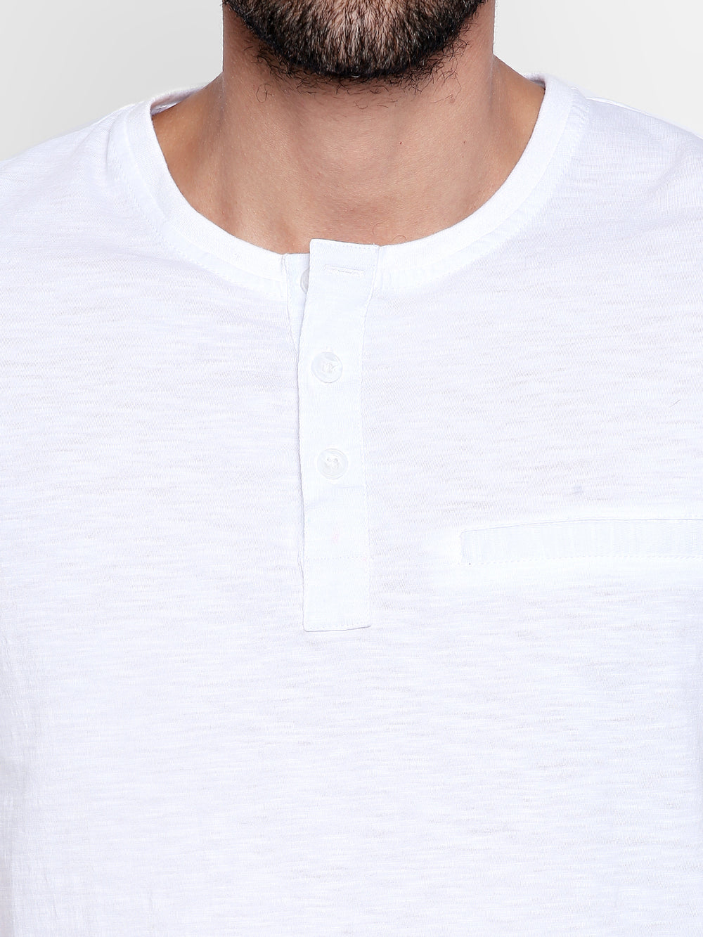 Disrupt Basic White Cotton T-Shirt