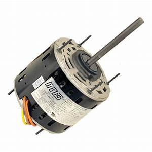 "Mars 10590 Blower Motor, 3/4 HP, 230V, Direct Drive, 1/2"" X 4"" Shaft, 1075 RPM"