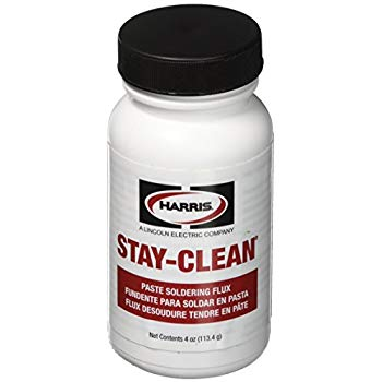 Harris Stay-Clean Soldering Flux Paste