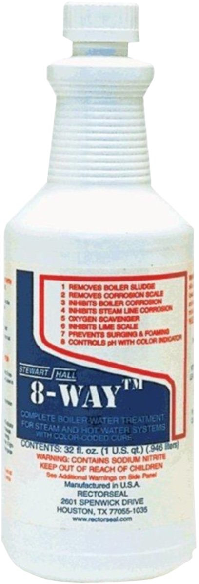 Rectorseal 68712 Quart 8-Way Boiler Water Treatment