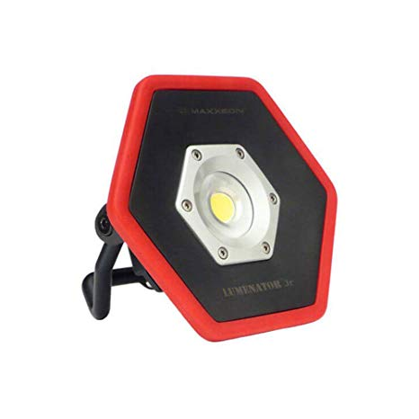 MAXXEON MXN05201 Lumenator Jr. LED Rechargeable Work Light with MXN10085 Magnet
