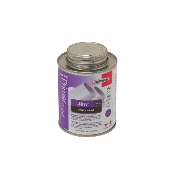 Rectorseal Jim 55912 Hi-Etch Primer, Purple, 0.5 Pt