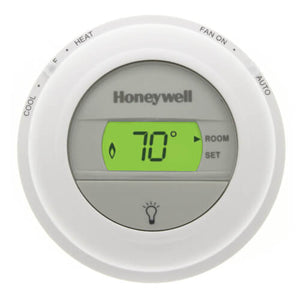 Honeywell Round Non-Programmable, 1H/1C, Digital Thermostat T8775C1005