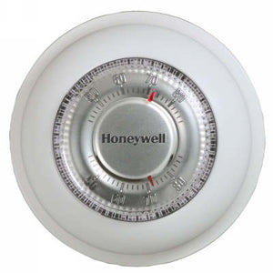 Honeywell T87K1007/U Round Non-Programmable, Heat Only, Mechanical Thermostat