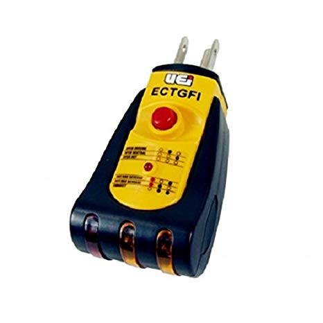 UEi ECTGFI Ground Fault Indicator Tester