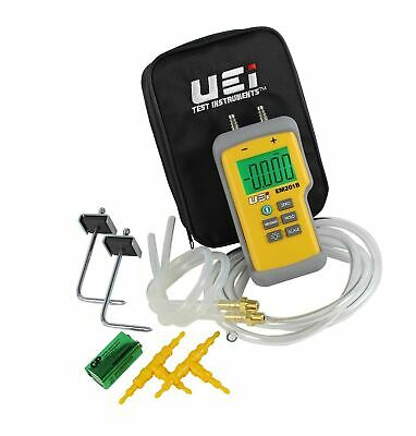 UEi EM201SPKIT Digital Electronic Manometer Static Pressure Kit