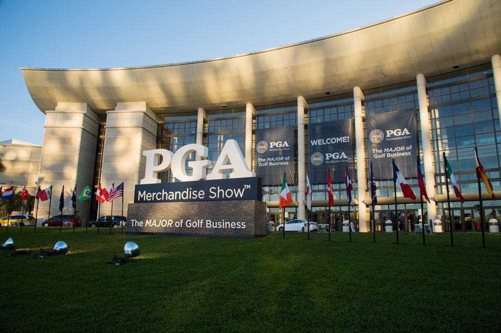 Mohawking Balls at the PGA Merchandise Show