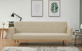 Esta Sofa Bed (Light / Dark Grey)