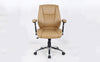 Eaton Mid-Back Chair Beige