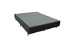 Maxell Bed Base Charcoal - Jory Henley Furniture