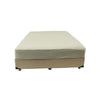 Maxell Bed Base Beige - Jory Henley Furniture