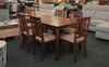 Mission Dining Suite Wooden Top 7 Piece