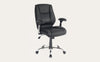 Eaton Mid-Back Chair Black