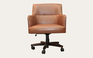 Elegance Office Chair Brown PVC