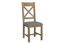 Holland Dining Chair Fabric Seat