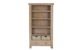 Holland Large Bookcase with baskets-Joryhenley-Jory Henley Furniture
