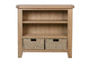 Holland Small Bookcase with baskets-Joryhenley-Jory Henley Furniture