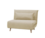 Kenny Sofa Bed (Dark Grey/Beige)