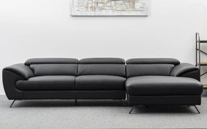 Martin Sofa with Chaise - Jory Henley Furniture
