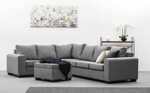 Monash Lounge Suite with Ottoman - Jory Henley Furniture