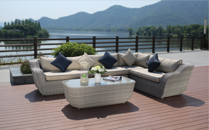 5 Piece Cannes Outdoor Lounge Package