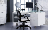 Mod-N Executive Desk-Joryhenley-White-Jory Henley Furniture