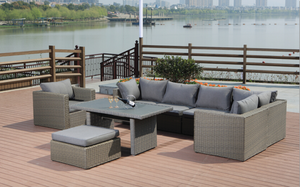8 Piece Breanne Outdoor Lounge Package