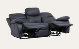 Davison Recliner 1+2+3 Suite-Joryhenley-Black-Jory Henley Furniture