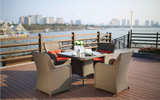 5 Piece Frisby Outdoor Dining Set