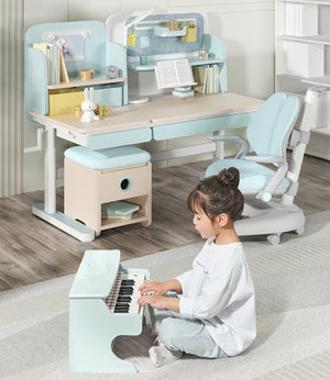 Igrow Cube Art Study Table & Chair Set