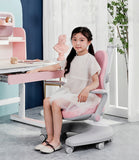 Igrow Study Chair Blue/Pink/Green