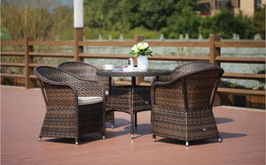 5 Piece Norfolk Outdoor Dining Set