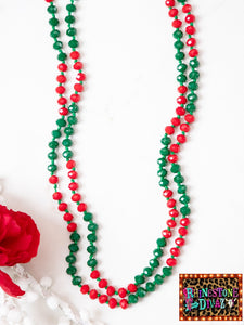 "60"" Deck The Halls Bead Necklace"
