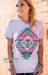 Colorful CT Aztec Tee