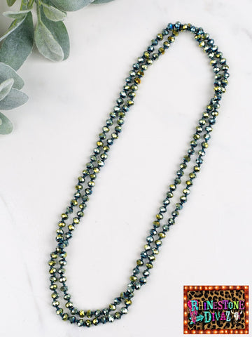 "60"" Metallic Mermaid Necklace"
