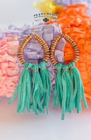 Turq Coppers Cove Earrings