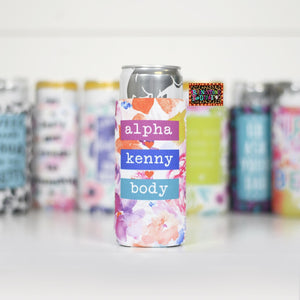 Alpha Kenny Body Koozie