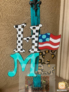 Home Interchangeable Door Hanger