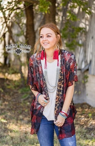 A Plaid Bit Perfect Reversible Cardigan